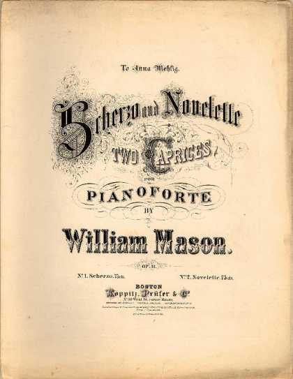 Sheet Music - Scherzo; Op. 31, no. 1