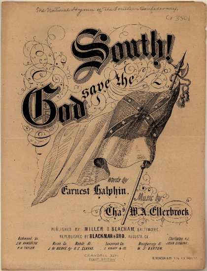 Sheet Music - God save the South!