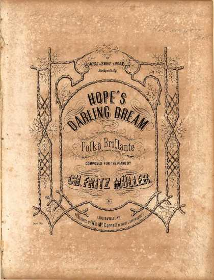 Sheet Music - Hope's darling dream
