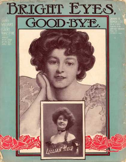 Sheet Music - Bright eyes good-bye