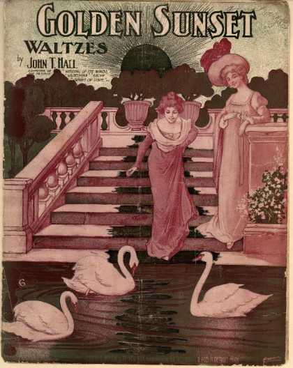 Sheet Music - Golden sunset waltzes