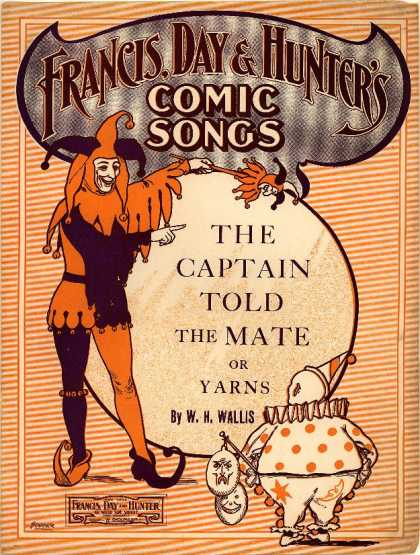 Sheet Music - Captain told the mate; Yarns