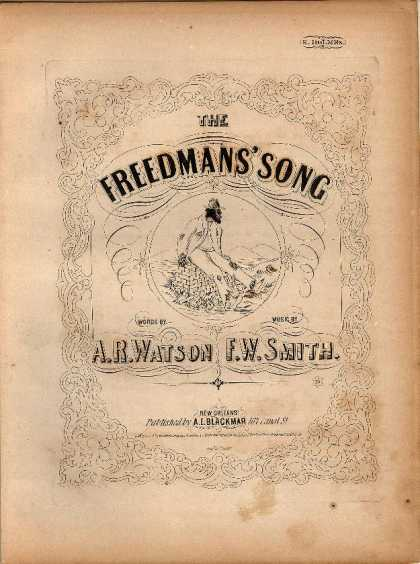Sheet Music - The freedmans' song