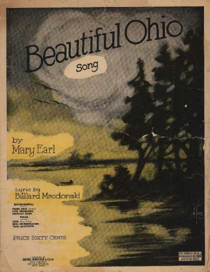 Sheet Music - Beautiful Ohio