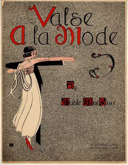 Sheet Music - Valse a la mode
