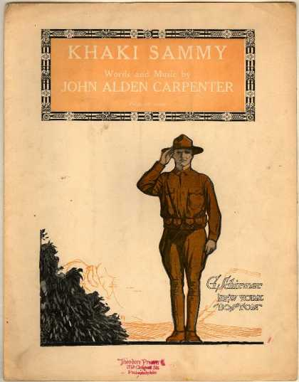 Sheet Music - Khaki Sammy