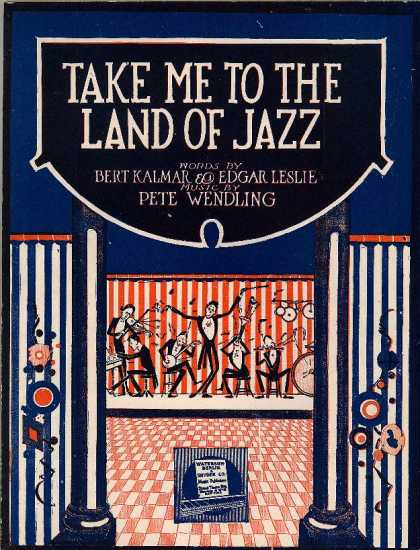 Sheet Music - Take me to the land of jazz