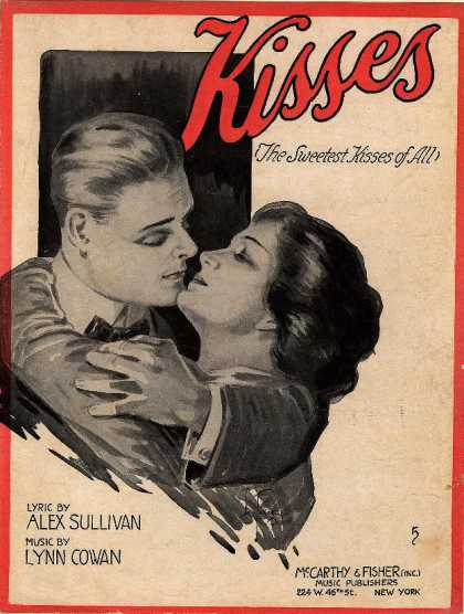 Sheet Music - Kisses (the sweetest kisses of all)