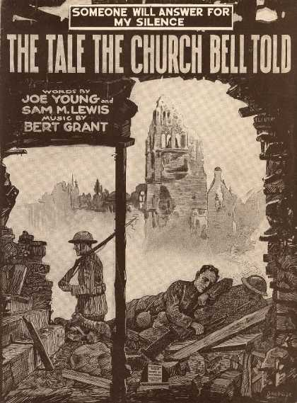 Sheet Music - The tale the church bell told; Someone will answer for my silence