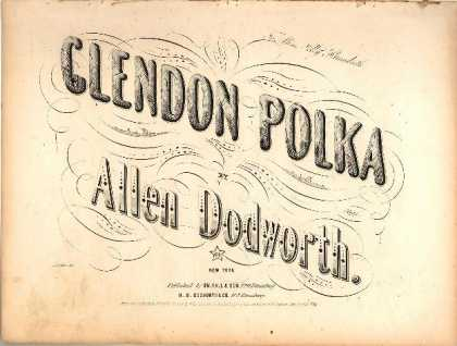 Sheet Music - Glendon polka