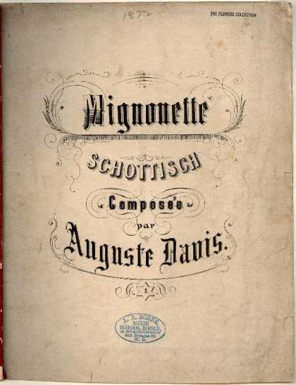 Sheet Music - Mignonette Schottisch