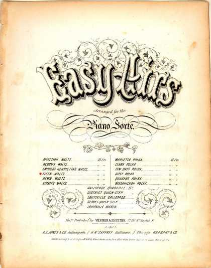 Sheet Music - Elfen waltz