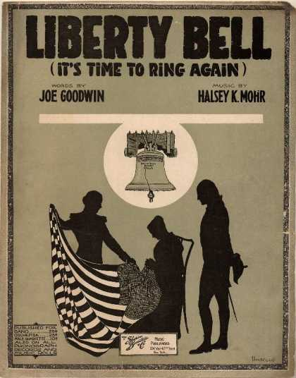 Sheet Music - Liberty bell (It's time to ring again)