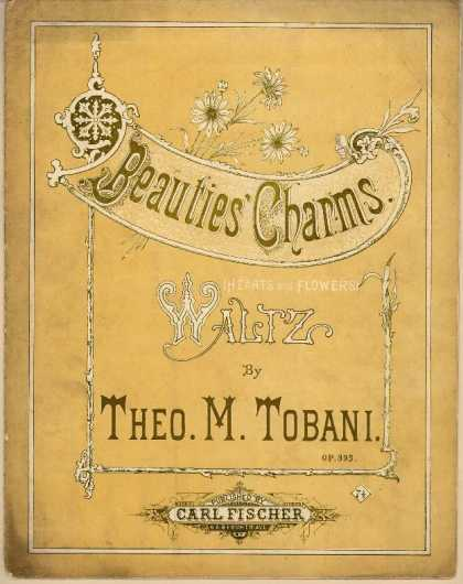Sheet Music - Hearts and flowers waltz; Beauties' charms waltz; Op. 393