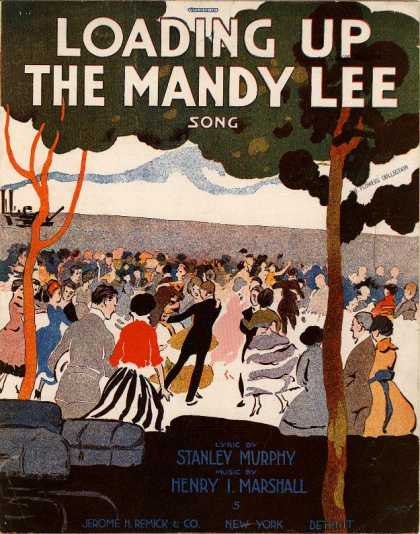 Sheet Music - Loading up the Mandy Lee