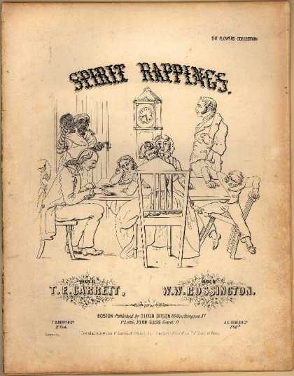 Sheet Music - Spirit rappings