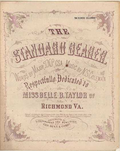 Sheet Music - The standard bearer