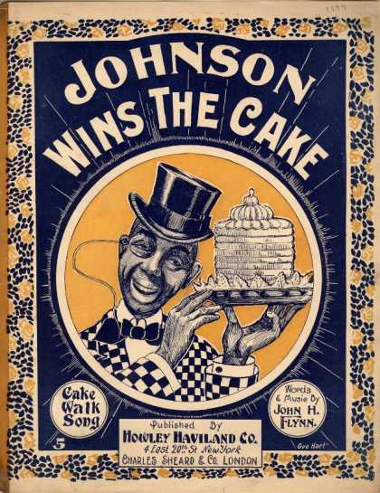 Sheet Music - Johnson wins the cake