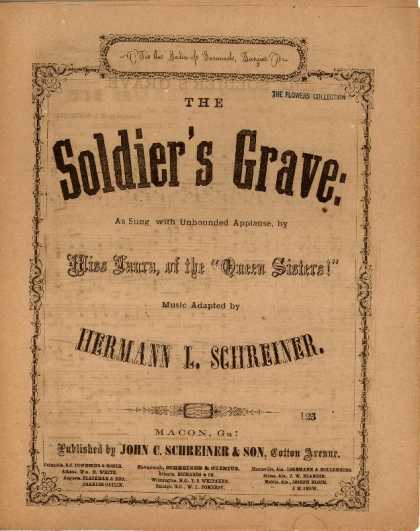 Sheet Music - Soldier's grave