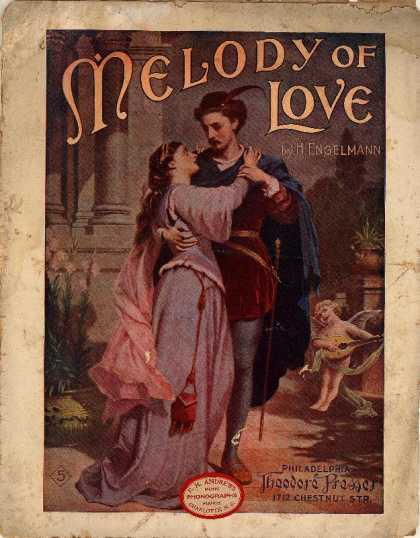 Sheet Music - Melody of love; op. 600