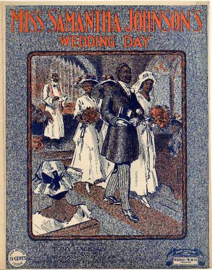 Sheet Music - Miss Samantha Johnson's wedding day