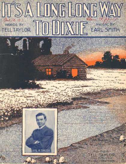 Sheet Music - It's a long long way to Dixie