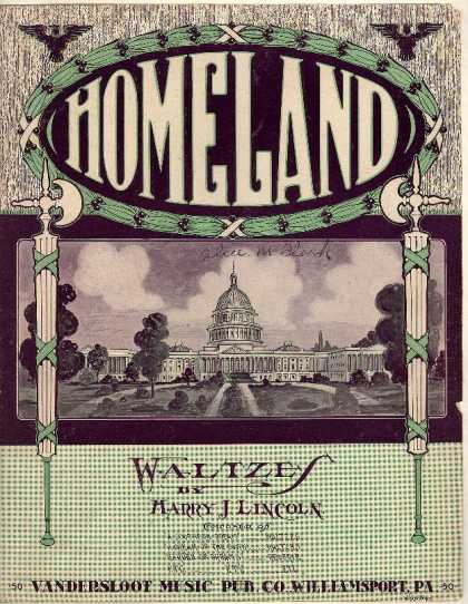 Sheet Music - Homeland