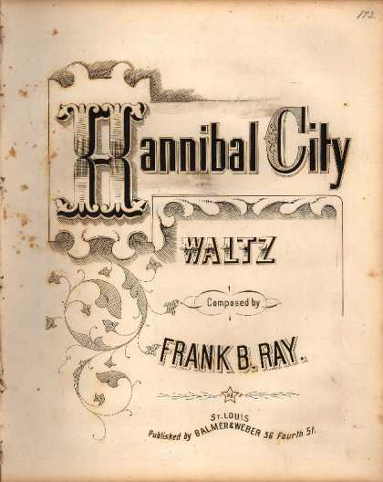 Sheet Music - Hannibal City waltz