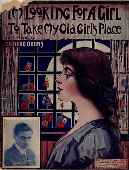 Sheet Music - I'm looking for a girl to take my old girl's place
