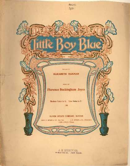 Sheet Music - Little boy blue