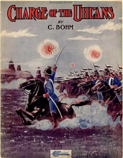 Sheet Music - Charge of the Uhlans; Attaque des Ulans; Grand galop militaire; Op. 213