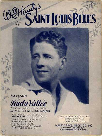 Sheet Music - Saint Louis blues