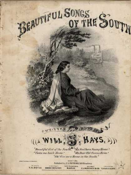 Sheet Music - Oh! Give me a home in the South
