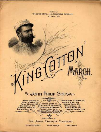 Sheet Music - King Cotton march