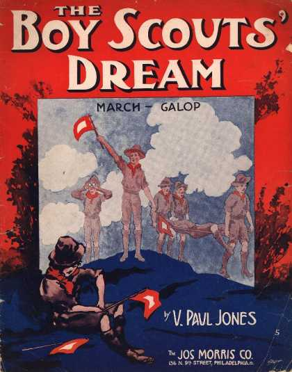 Sheet Music - The Boy Scout's dream