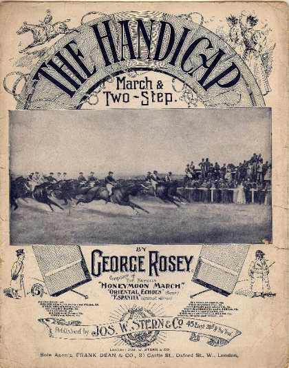 Sheet Music - The handicap march & two-step dance