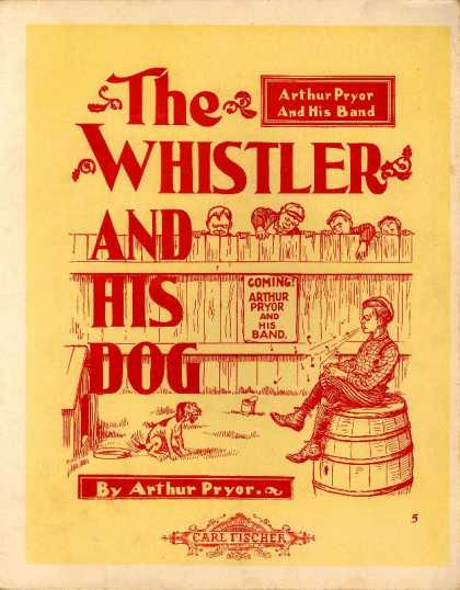 Sheet Music - The whistler and his dog; Caprice