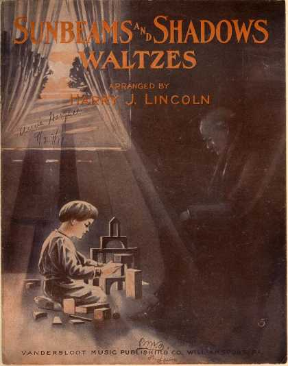 Sheet Music - Sunbeams and shadows waltzes