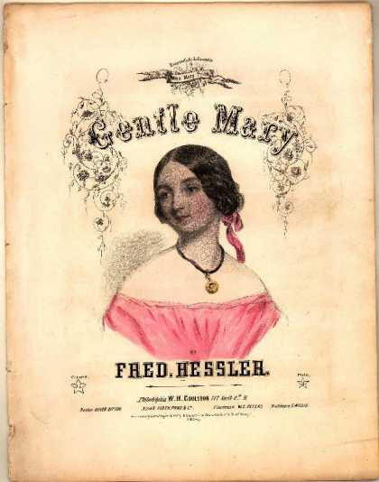 Sheet Music - Gentle Mary