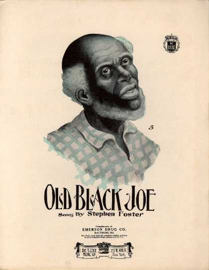 Sheet Music - Old black Joe