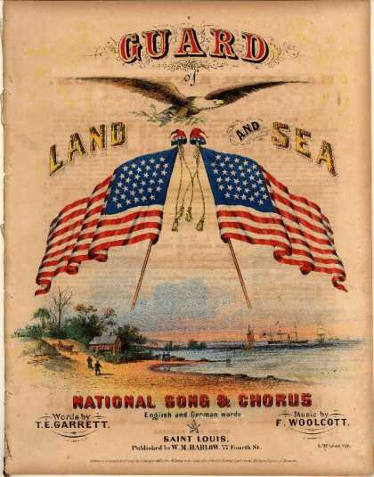 Sheet Music - Guard of land and sea