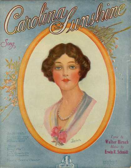 Sheet Music - Carolina sunshine