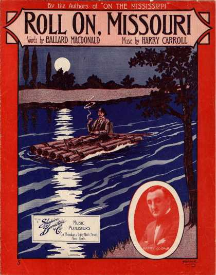 Sheet Music - Roll on, Missouri