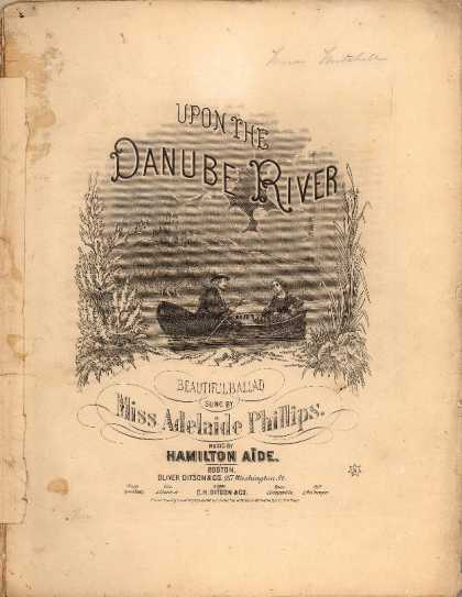 Sheet Music - Upon the Danube River