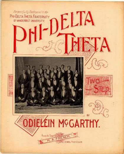 Sheet Music - Phi-delta theta two step