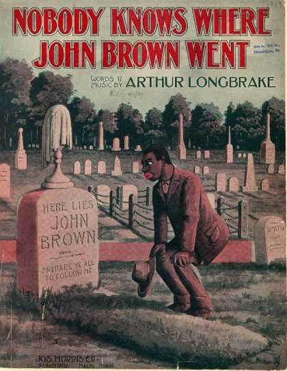 Sheet Music - Nobody knows where John Brown went