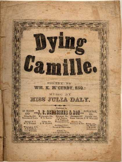 Sheet Music - Dying Camille