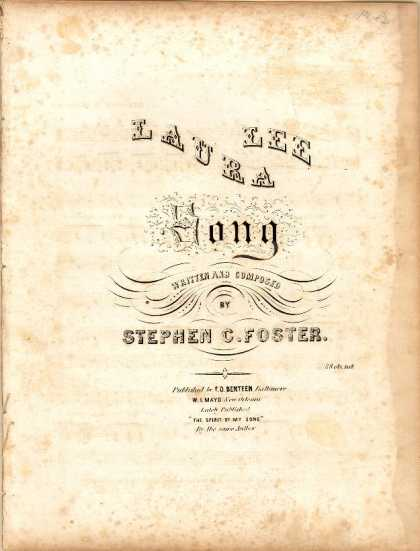 Sheet Music - Laura Lee