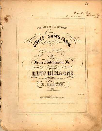 Sheet Music - Uncle Sam's farm
