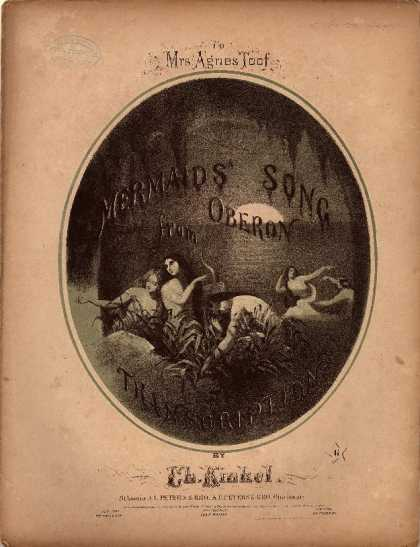 Sheet Music - Mermaids' song from Oberon